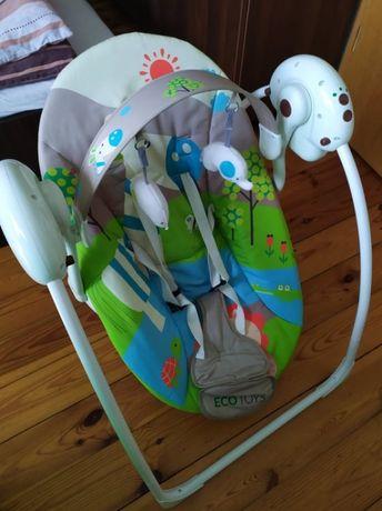 Leżaczek bujaczek Eco Toys
