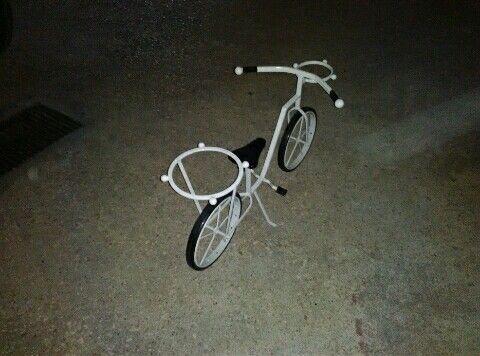 Bicicleta decorativa para jandim