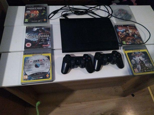 PS3 + daw pady i kilka gier