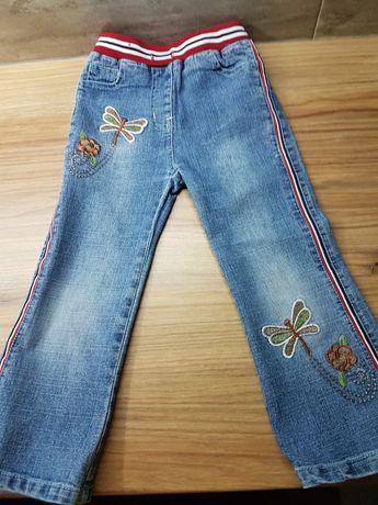 Rozm 104 spodnie jeans