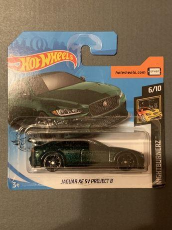 Hot Wheels Jaguar XE SV PROJECT 8