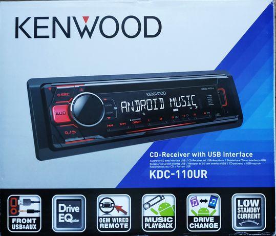 Radioodtwarzacz CD/USB/AUX KENWOOD KDC-110UR