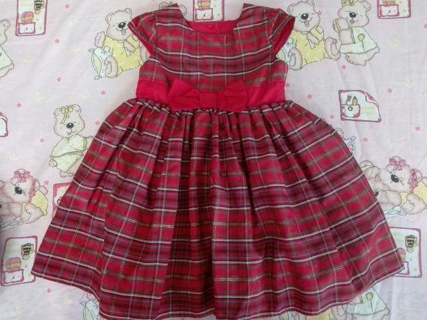 Платье фирмы M&S на 1.5-2 года
