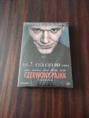 Nowy Folia Czerwony Pająk Polski Film DVD Kino PL Koszałka Marcin