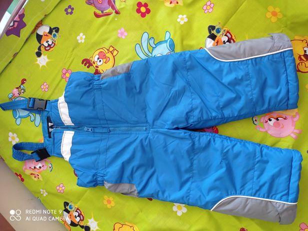 Зимові утеплені штани (комбінезон)