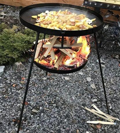 Сковорідка 50см+кришка + підставка на вогонь + чохол