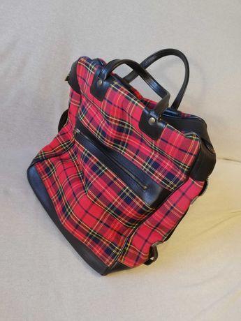 Stylowa torba skórzana idealna na weekend