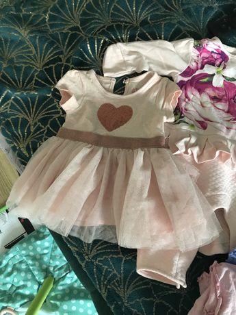 Paka ubrań dla dziewczynki 56-68