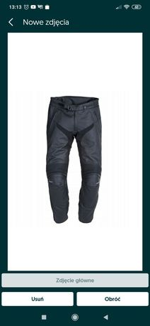 Spodnie skórzane Triumph 34/44