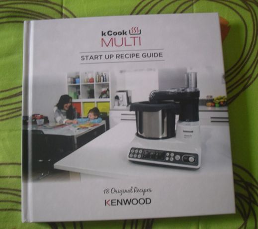 Livro KCook Multi da Kenwood (novo)