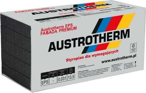 Styropian Austrotherm EPS fasada Premium  grafit 0,031 grubość  16 cm