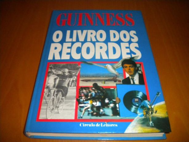 """Guinness """"O Livro dos Recordes"""""""