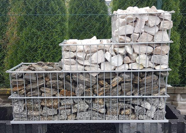 Kamień do GABIONÓW gabionowy Na skarpy / SKALNIAK / Do oczka TRANSPORT