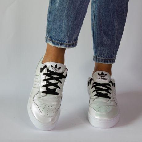 Adidas rivalry low женские кожаные кроссовки р.37-39 Оригинал!