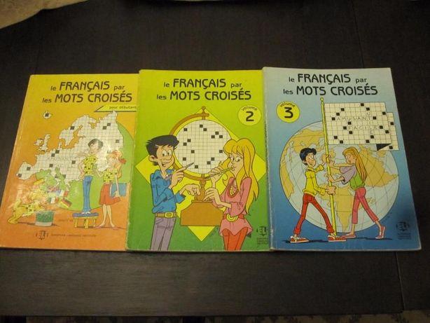 Le français par les mots croisés (volumes 1,2 e 3)