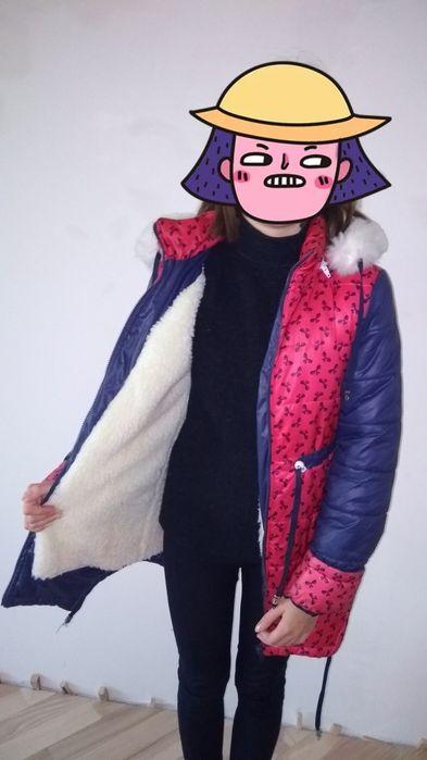 Куртка тепла для дівчинки Тернополь - изображение 1