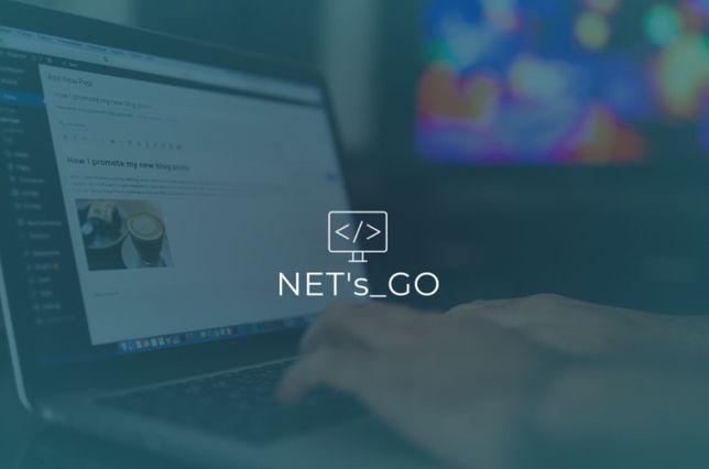 Strony internetowe Wordpress WWW - wizytówki, portfolio, NET's_GO!