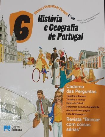 Caderno de atividades História e Geografia de Portugal 6° ano