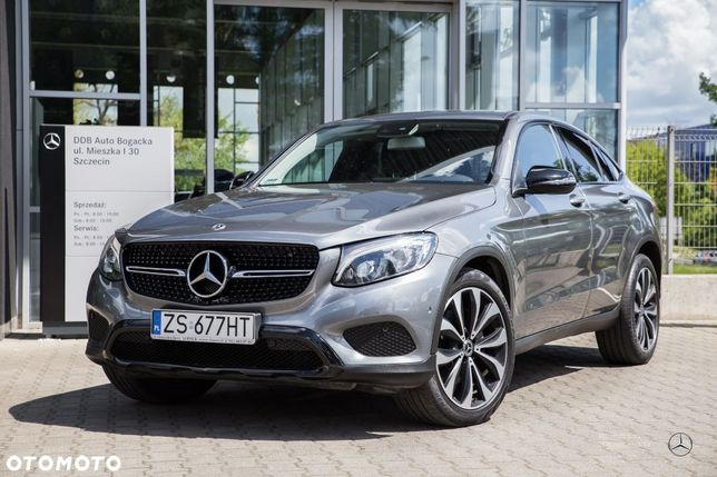 Mercedes-Benz GLC GLC 220 d 4M Coupé / FV 23% / Salon PL / Zadbany / DDB Auto Bogacka