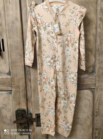 newbie piżama 86 .92 pajac nowa kolekcja z metką