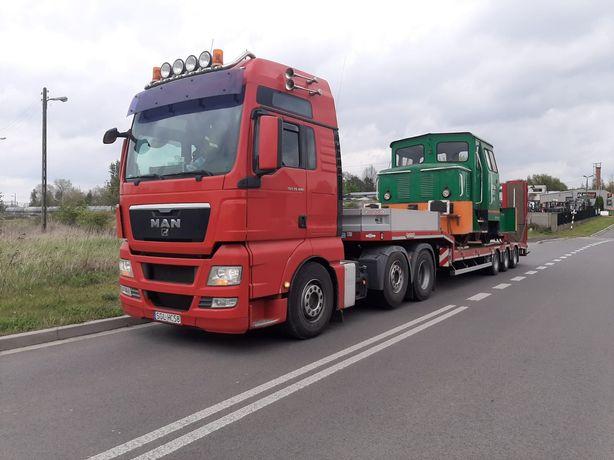Uslugi transport niskopodwoziowy laweta Slask Zabrze Katowice