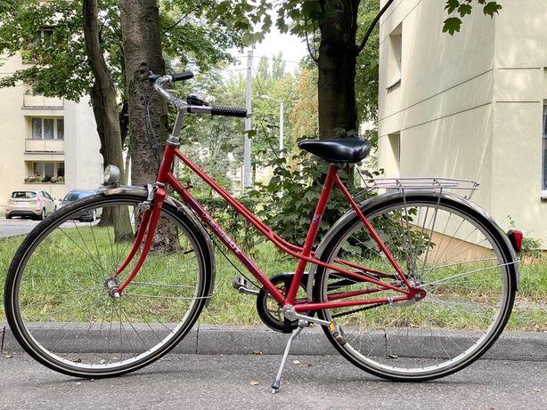 Rower miejski - damka Peugeot po remoncie