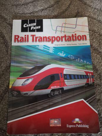 Książka, podręcznik rail transportstion, możliwa Wysyłka