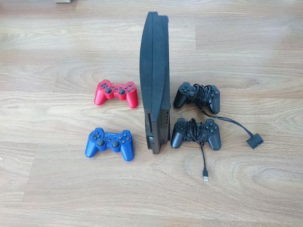 Konsole PS3 Rezerwacja do 10 sierpnia 320Gb 4 pady przerobka