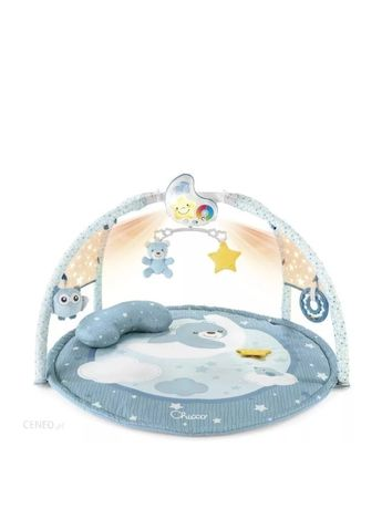 Chicco First Dreams Mata Dla Niemowlaka 3W1 Enjoy Colors Blue