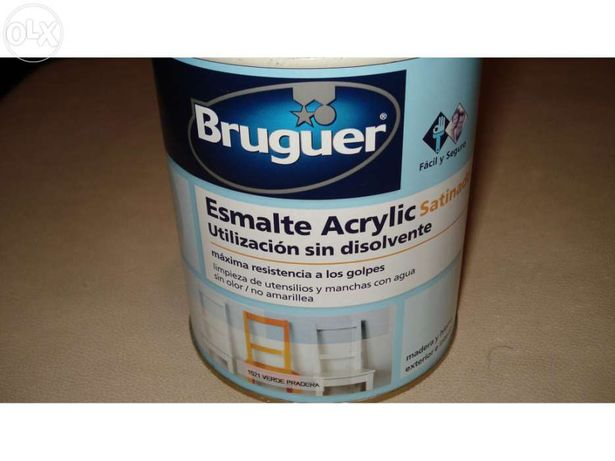 Tinta esmalte acrílica marca Bruguer