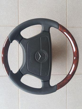 Kierownica drewniana Mercedes w140 r129
