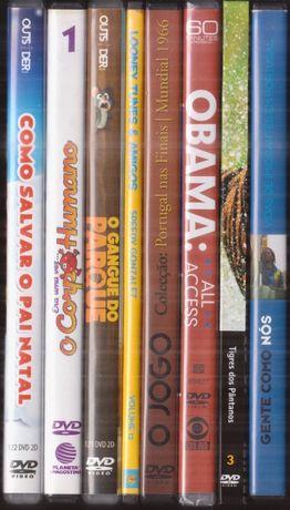 DVD's – Animação, Documentários