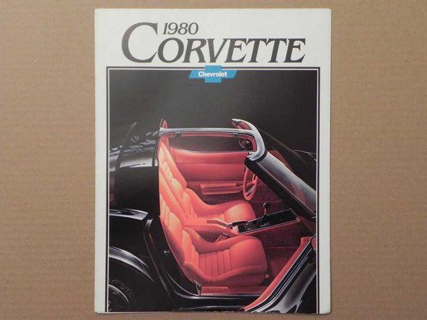 Prospekt - CHEVROLET CORVETTE C3 - 1980 r