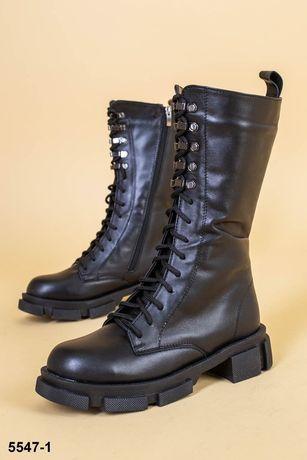 Ботинки высокие Сапоги на шнуровке