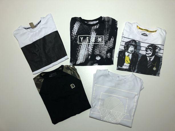 Zestaw koszulek t- shirty 140