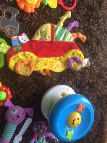 Mega paka zabawek - grzechotka, gryzaki, przywieszki- Fisher Price