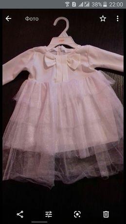 НОВОЕ платье из Чехии с фатином для девочки