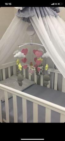 Детская кроватка Veres LD-13