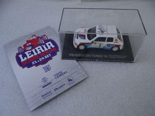 Peugeot 205 Turbo 16 AUTOGRAFADO = Ari Vatanen =