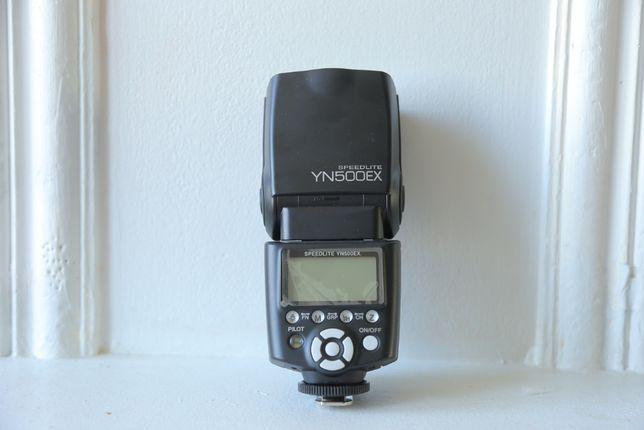 Новая фотовспышка yongnuo speedlite yn-500ex