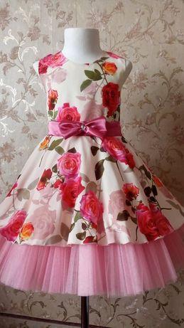 Нарядное платье для девочки, платье