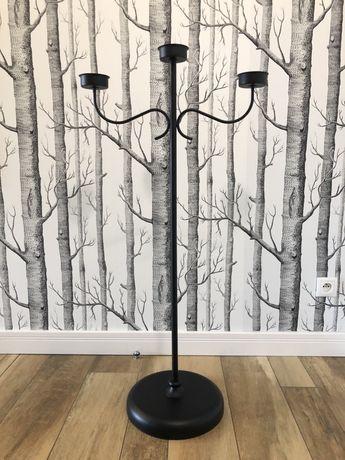 wysoki świecznik stojący Ikea