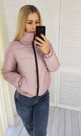 Женский пуховик куртка осень 2020 года 42 44 46 48 арт 405
