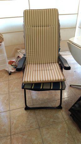 Cadeira de Jardim reclinável