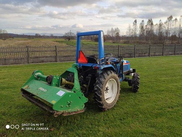 Do wynajęcia Traktorek ISEKI 21SIAL + glebogryzarka+kosiarka bijakowa