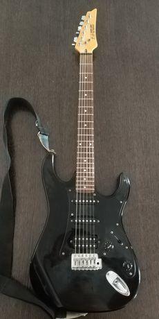 Guitarra Eléctrica Ibanez Silver Cadet + Amplificador + Saco Original