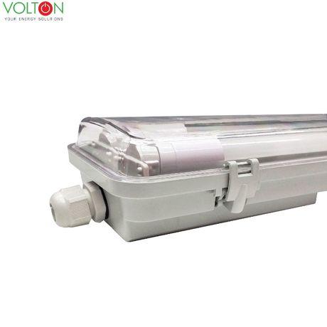 LED cветильник ЛПП 2*36 IP 65 в комплекте с LED лампами T8+ ПОДАРОК