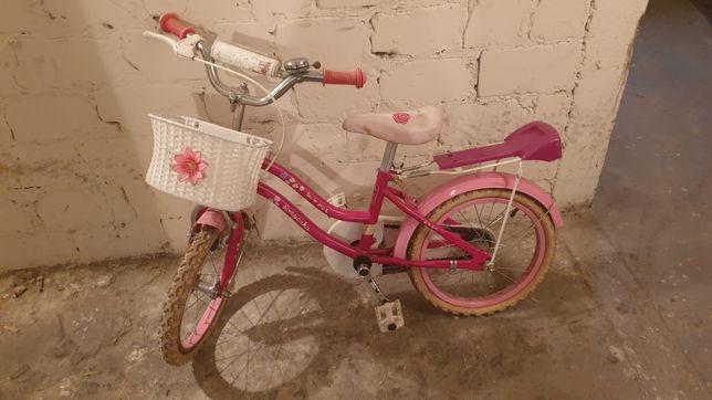Rowerek dziewczęcy dla dzieci