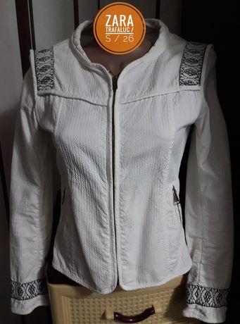 Женская белая куртка, жакет Zara