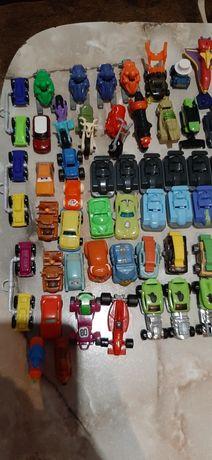 Машинки из киндер сюрприз